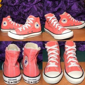 CONVERSE ALL⭐️STAR High-Top PINK Sneakers Size 12